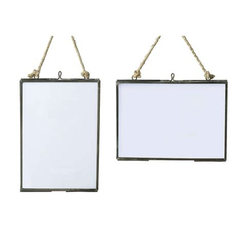 frame hanging glass hanging frame by all things brighton beautiful notonthehighstreet com