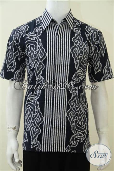 desain baju batik untuk orang pendek hem batik pria desain motif trendy harga murah meriah
