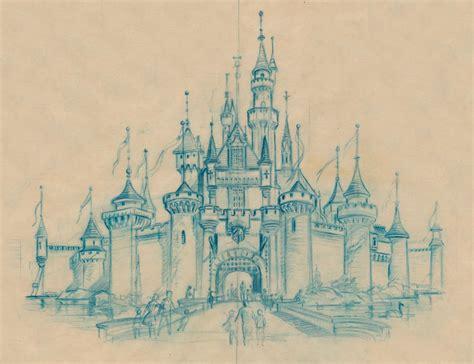 castle of disney world line drawing tattoo inspiration disneyland castle sketch disney concept art pinterest