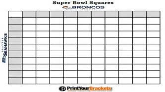 bowl 2015 squares template superbowl 2015 squares new calendar template site