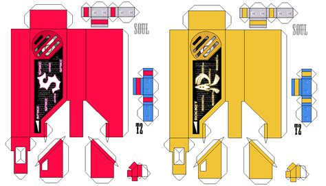 Papercraft Rocket - sonic colors gaia memory spike rocket papercraft by