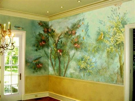 wall paintings decorative painting techniques for interior walls wall