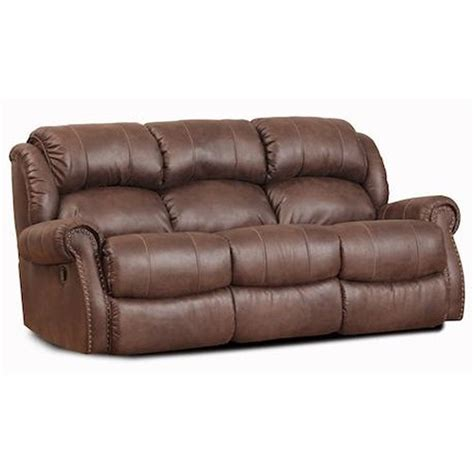 Homestretch 120 22 Casual Double Power Reclining Sofa Homestretch Reclining Sofa