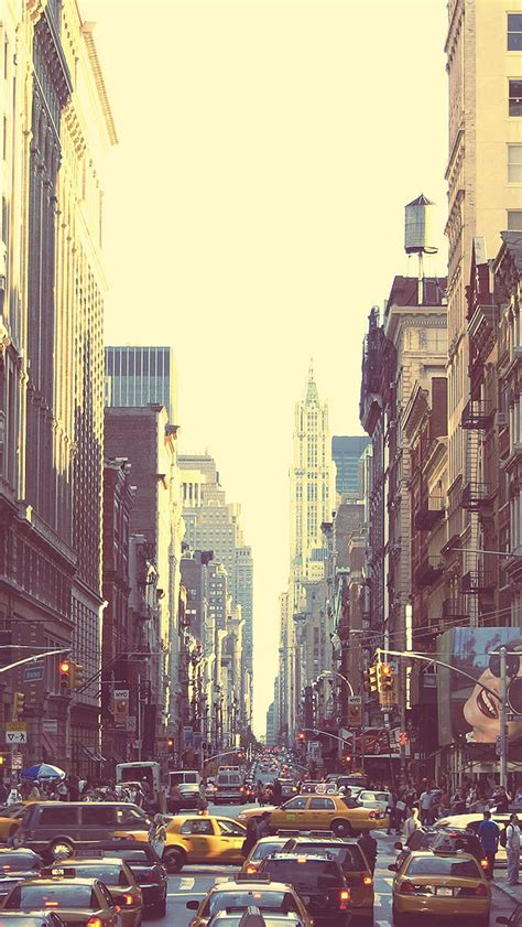 beautiful streets of new york city the iphone wallpapers