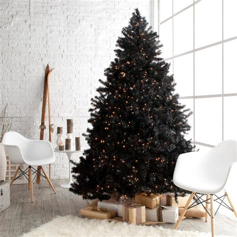 Decorated Black Tree Pictures by Gorgeous Black Tree Decoration Ideas