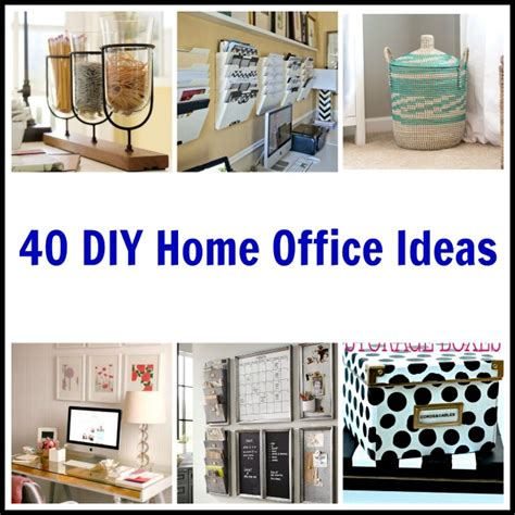 home office design diy 40 diy home office ideas