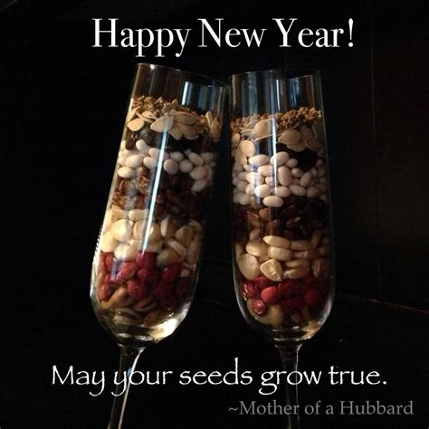 new year seeds ring in the new year with seeds