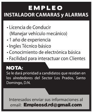 camara empleo empleo para instalador de c 225 maras y alarmas 161 aplica