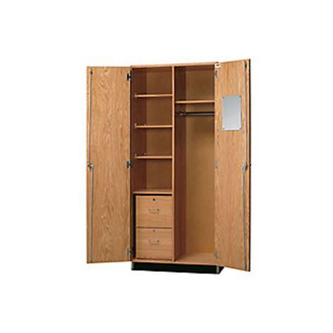 Lockable Wardrobe Cabinet by Lockable Laboratory Wardrobe Storage Cabinet 36w 36529