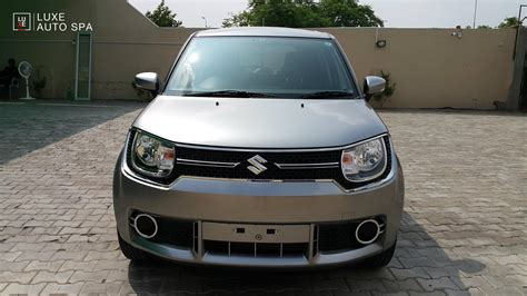 Suzuki Hybrid Suzuki Ignis Hybrid At Front Spied Indian Autos