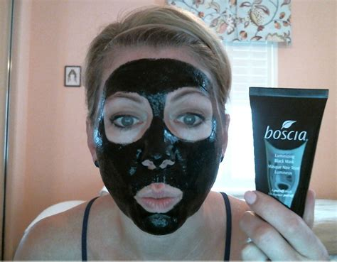 boscia luminizing black mask review and results