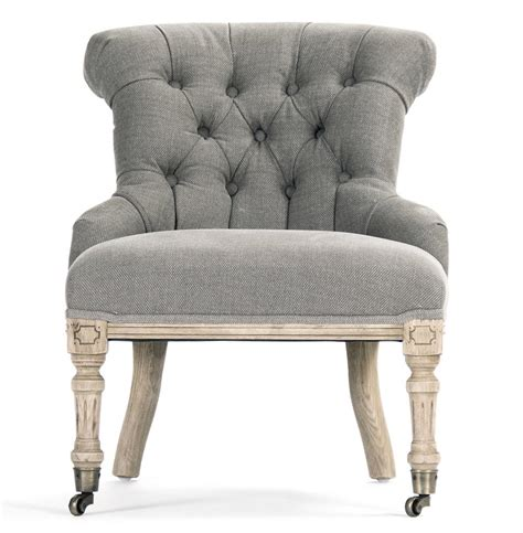 grey slipper chair fulbert country rolled back grey oak boudoir