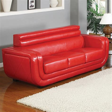 bright red leather sofa contemporary bright red sofa contemporary sofas new