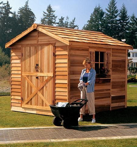 Sheds Usa Consumer Reviews by Large Wooden Sheds Lawn Mower Motorcycle Storage Shed Kits Cedarshed