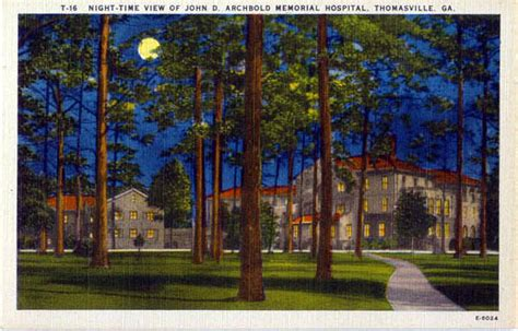 Thomasville Post Office by Postcards From County
