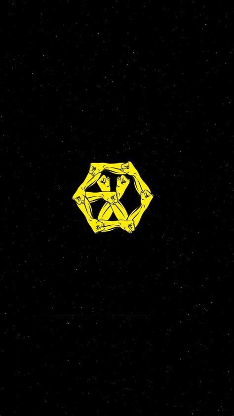 exo logo iphone wallpaper exo power exo logos wallpapers pinterest exo kpop