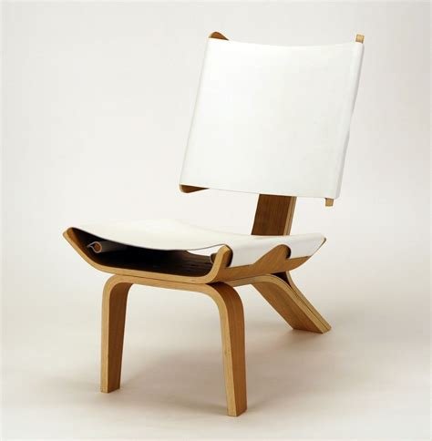 designer chairs aesthetically brilliant chair made of bent plywood and