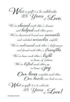 25th Wedding Anniversary Songs Free by Free Anniversary Poems For Parents 25th 50th Wedding