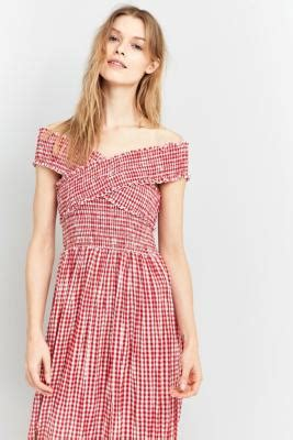 Outfitters Picnic Shirt Dresses by Pins Needles Gingham Picnic Midi Dress Outfitters