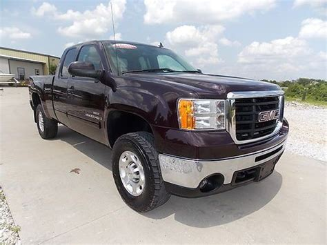 how things work cars 2008 gmc sierra 2500 instrument cluster purchase used 2008 gmc sierra 2500hd slt 4x4 duramax allison loaded out no reserve video