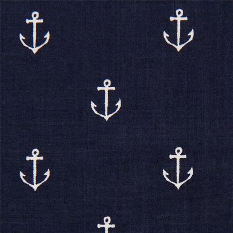 fabric pattern anchor navy blue maritime anchor fabric by michael miller