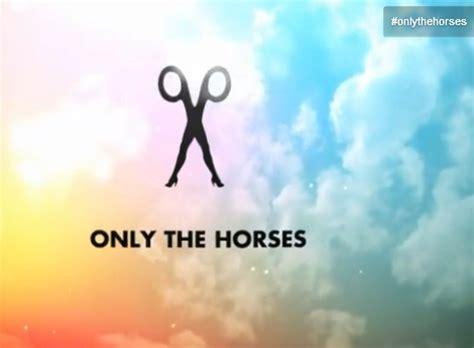 testo only time only the horses scissor audio testo e