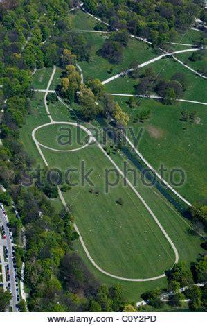 Englischer Garten River by Germany Bavaria Munich Englischer Garten Park Eisbach