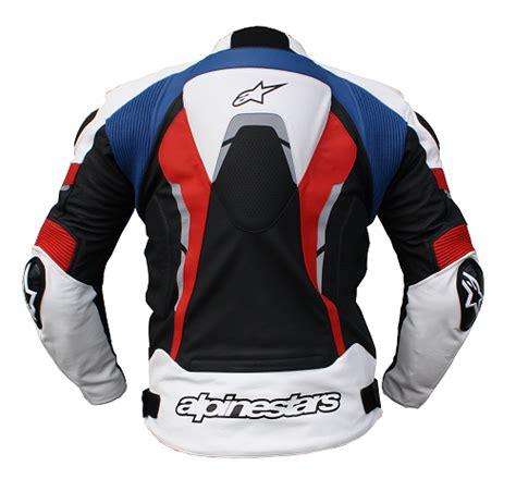Motorrad Lederjacke Blau Wei by Racing Alpinestars Lederjacke Celer Gr 52 Sw Ws Rot Blau