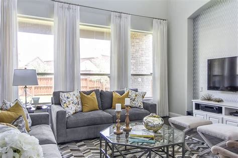 yellow gray and white living room yellow and gray living room contemporary living room ej interiors