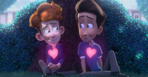 In A by This Animated About A Boy Falling For The