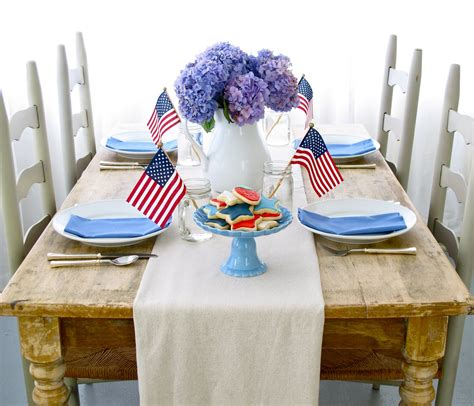 4th Of July Table Decoration Ideas by Steffens Hobick Favorite 4th Of July Recipes
