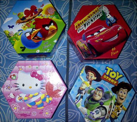 Murah Crayon Set Segi 6 Enam 46pcs 46 Pcs Set Warna Color crayon hexagon set karakter lucu 060 barang unik china