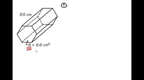 How To Make A Hexagonal Prism Out Of Paper - volume of a hexagonal prism