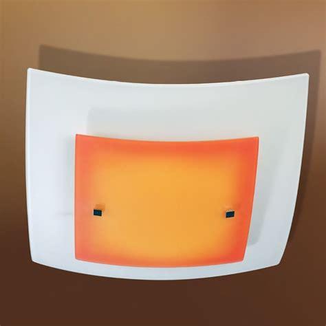 soffitto colorato plafoniera quadra lada da soffitto illuminazione
