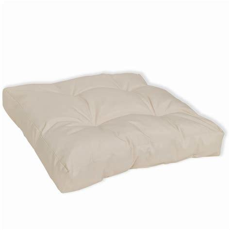 upholstered seat cushions upholstered seat cushion 50 x 50 x 10 cm sand white www