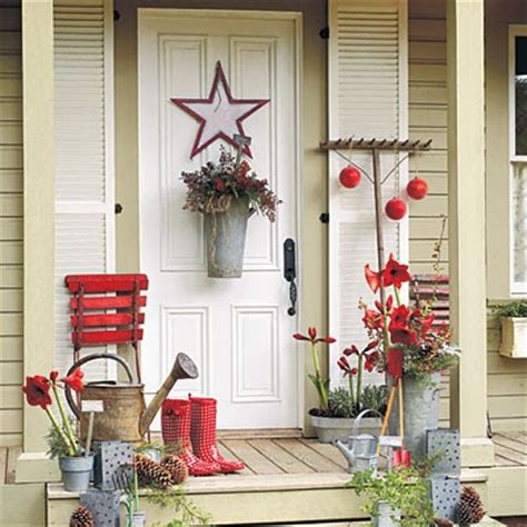 winter porch decorations a winter front porch cleverly inspired