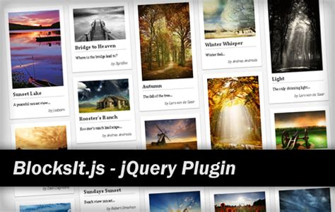 layout js jquery 7 jquery plugins to create pinterest like layouts
