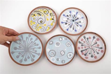 Keramik Geschirr Bunt by Madeheart Gt Keramik Geschirr Bunt Handmade Teller Keramik