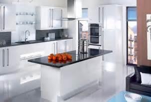 17 White And Simple High Gloss Kitchen Designs Home Orange Color Kitchen Design
