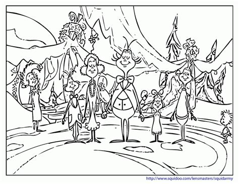 whoville town coloring pages coloring pages