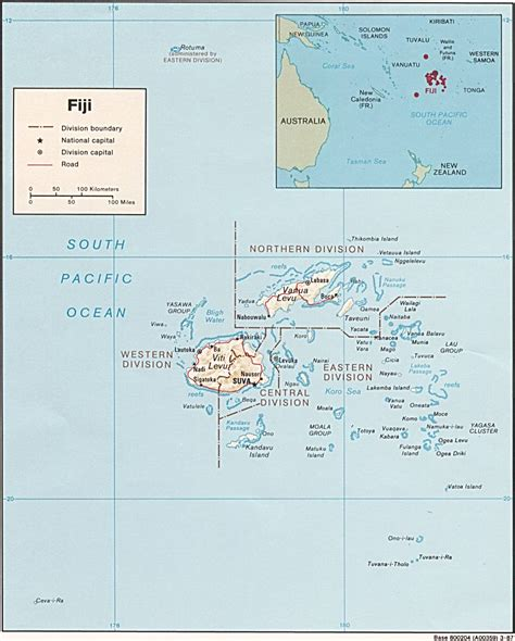 fiji islands map nationmaster maps of fiji 25 in total