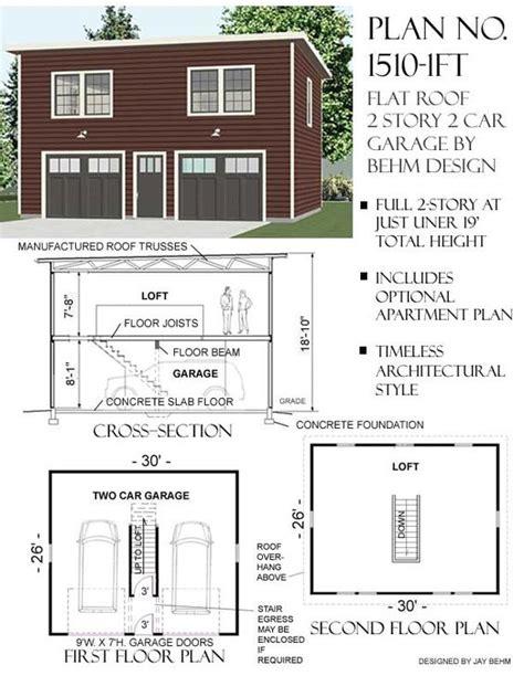 2 story garage apartment plans pinterest the world s catalog of ideas