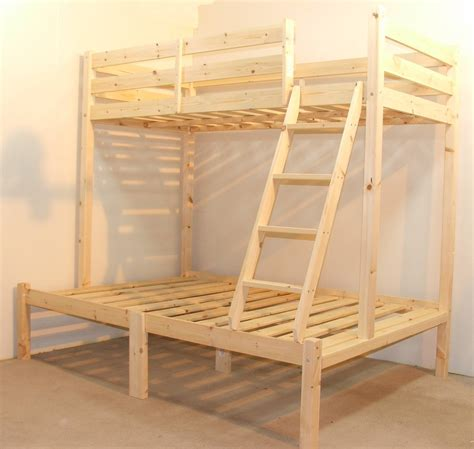 4 Sleeper Bunk Beds Duchess 4ft 6 Heavy Duty Solid Pine Sleeper Bunk Bed