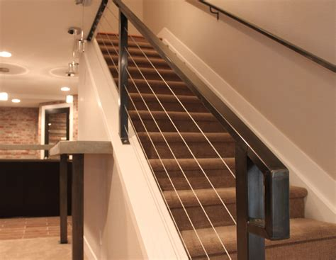 wood handrail for stairs contemporary wooden railing ideas for staircase interior