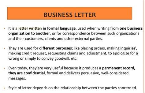 Business Communication Letter Definition business letter meaning and purpose 28 images business