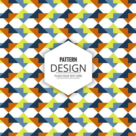 modern pattern vector ai modern pattern of abstract shapes vector free download