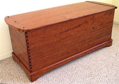 Blanket Chest Custom Dovetailed Blanket Chest By Louis Fry Craftsman In