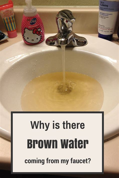 Brown Water Coming Out Of Faucet by Why Is There Brown Water Coming From Faucets Allgood Plumbing Electric Heating Cooling