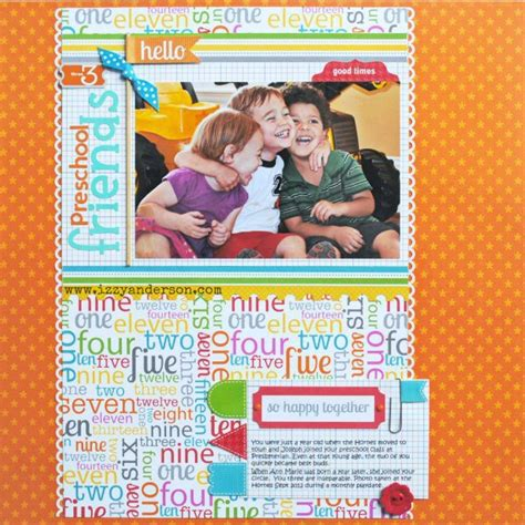doodlebug preschool write snap scrap preschool friends doodlebug designs