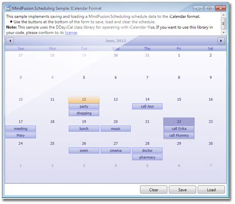xaml linear layout mindfusion scheduling for wpf calendar and schedule